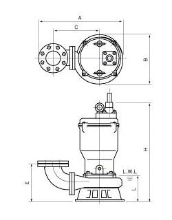 JPW Submersible Dewatering Pump - JMI Pump
